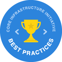 CII Best Practices Badge