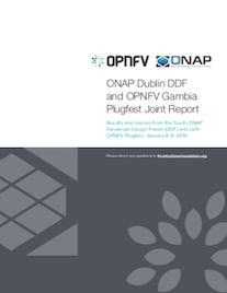 ONAP DDF + OPNFV Plugfest